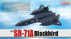DGW SR-71A Blackbird Diecast Model Airplane 1/400 Scale #56263