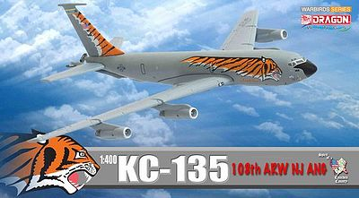DGW KC-135 108th ARW NJ ANG Diecast Model Airplane 1/400 Scale #56278