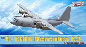 DGW C-130K Hercules 47sqd RAF Diecast Model Airplane 1/400 Scale #56279