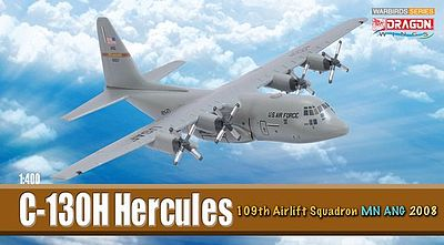 DGW C-130H Hercules 109th MN ANG Diecast Model Airplane 1/400 Scale #56299