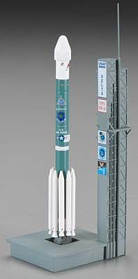 Dragon Wings NASA Delta II Rocket USAF GPS-IIR-16 -- Diecast Model Spacecraft -- 1/400 Scale -- #56334