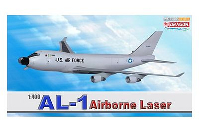 DGW AL-1 Airborne Laser Diecast Model Airplane 1/400 Scale #56346