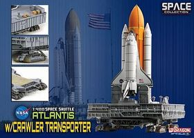 DGW Space Shuttle Atlantis Diecast Model Spacecraft 1/400 Scale #56392