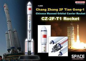 DGW CZ-2F-T1 Rocket Chang Zheng Diecast Model Spacecraft 1/400 Scale #56400