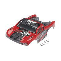 DROMIDA Body Red w/Decals DT 4.18 BL