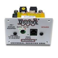 Digitrax UR92 Duplex Radio Transceiver/IR Receiver Panel Model Railroad Electrical Accessory #11005