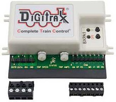 Digitrax Auto-Reverser with Detection, Transponding and Power Management