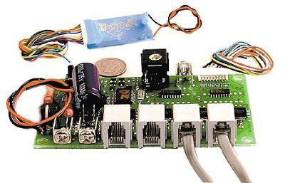 Digitrax Basic quad stnry decoder