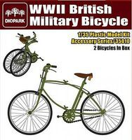 Diopark WWII British Military Bicycle (2) Plastic Model Bicycle Kit 1/35 Scale #35010