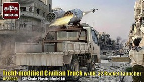 Diopark 1/35 Field-Modified Civilian Truck w/UB32 Rocket Launcher (New Tool)