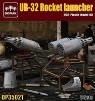 Diopark 1/35 UB32 Rocket Launchers (3) (New Tool)