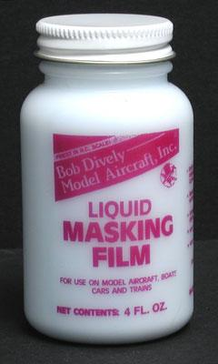 Bob Dively Liquid Masking Film 4 oz