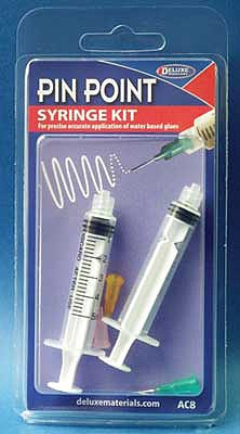 Deluxe-Materials Pin Point Syringe Kit For Water-Based Glues