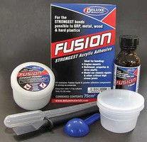Deluxe-Materials Fusion Acrylic Adhesive 2.5oz 75ml