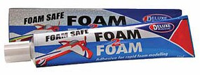 Deluxe-Materials Foam 2 Foam, Foam Safe Glue 50ml- EPO, EPS, Wood