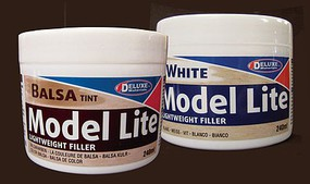 Deluxe-Materials Model Lite Balsa Filler, Balsa Brown- 240cc