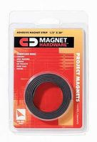 Dowling Flexible Adhesive Magnetic Tape (1/2''x 30'' Roll)