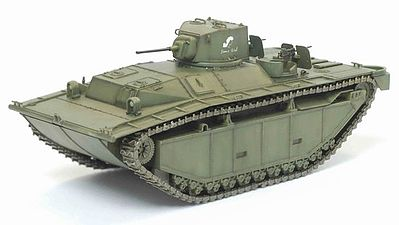 Dragon Armor Diecast LVT-A1 708th Amphibious TB Diecast Model Tank -- 1/72 Scale -- #60424