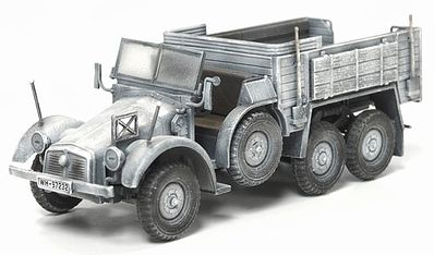 Dragon Armor Diecast Kfz.70 6x4 Personnel Carrier -- Diecast Model Military Truck -- 1/72 Scale -- #60501