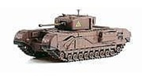 Dragon-Armor CHURCHILL Mk,IV A Sqdn Plastic Model Military Vehicle 1/72 scale #60503