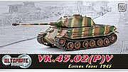 Dragon Armor Diecast VK.45.2 EASTERN FRONT '45 -- Plastic Model Military Vehicle -- 1/72 scale -- #60587