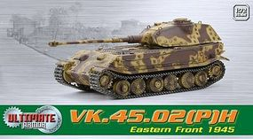 Dragon-Armor VK.45.02 P H E.FRONT 1945 Plastic Model Military Vehicle 1/72 scale #60588