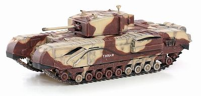 Dragon Armor Diecast CHURCHILL Mk.III KINGFORCE -- Plastic Model Military Vehicle -- 1/72 scale -- #60592