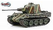 Dragon Armor Diecast 5.5cm ZWILLING FLAKPANZER -- Plastic Model Military Vehicle -- 1/72 scale -- #60593