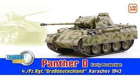Dragon-Armor PANTHER D Early 4./Pz.Rgt 1-72