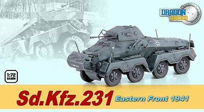 Dragon Armor Diecast Sd.Kfz.231 EASTERN FRONT 1-72