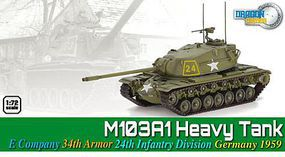 Dragon-Armor M103A1 E CO 34th ARMOR 1-72