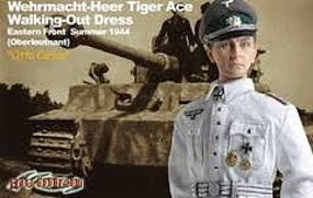 Dragon-Model-Figures Otto Carius Tiger Ace Plastic Model Military Figure 1/6 Scale #70320