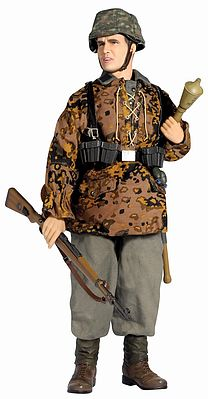 Dragon Model Figures 1:6/1:9 Rolf Wagner Panzergrenadier -- Plastic Model Military Figure Kit -- 1/6 Scale -- #70472