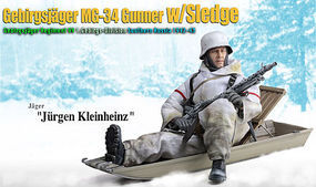 Dragon-Model-Figures Jurgen Kleinheinz Plastic Model Military Figure Kit 1/6 Scale #70476