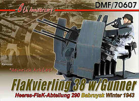 Dragon-Model-Figures Heinrich Achtes 8th Anniversary Plastic Model Military Artillery Kit 1/6 Scale #70607