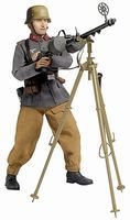 Dragon-Model-Figures Johann Meiler MG Gunner Plastic Model Military Figure Kit 1/6 Scale #70720