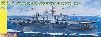 DML USS Independence CVL22 Aircraft Carrier Plastic Model Ship Kit 1/350 Scale #1024