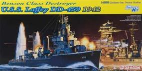 DML USS Laffey DDG459 Benson Class Destroyer 1942 Plastic Model Military Ship Kit 1/350 #1026
