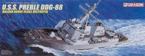 DML USS Preble DDG88 Arleigh Burke Class Destroyer Plastic Model Military Ship 1/350 #1028