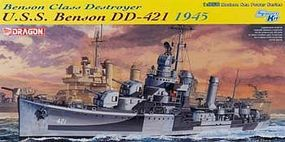 DML USS Benson DD421 Destroyer 1945 Plastic Model Military Ship Kit 1/350 Scale #1032