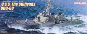 DML USS Sullivans DDG68 Plastic Model Destroyer Kit 1/350 Scale #1033