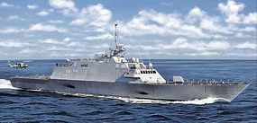 DML USS Freedom LCS1 Littoral Combat Ship Plastic Model Military Ship Kit 1/350 Scale #1057