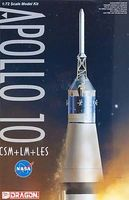 DML Apollo 10 CSM+LM+LES Space Program Plastic ModelKit 1/72 Scale #11003