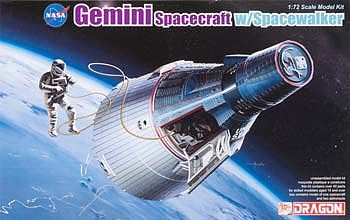 Gemini Space Program >> Dml Gemini Spacecraft W Spacewalker Space Program Plastic Model Kit