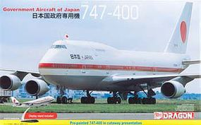 DML Japan Government Aircraft 747-400 Plastic Model Airplane Kit 1/144 Scale #14702