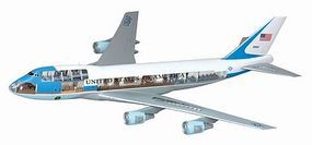 DML Air Force One 747 (VC-25A) Cutaway Views Plastic Model Airplane Kit 1/144 Scale #14703