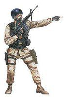 DML Delta Force Plastic Model Military Figure 1/16 Scale #1610