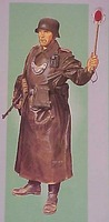 DML German Feldgendarie Plastic Model Military Figure 1/16 Scale #1618