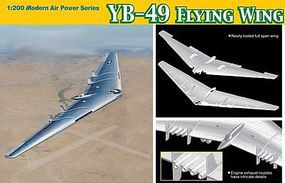 DML YB49 Flying Wing Proto-Type Heavy Bomber Plastic Model Airplane Kit 1/200 Scale #2012