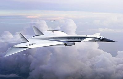 Dragon Models XB70A Valkyrie AV1 Supersonic Research Aircraft -- Plastic Model Airplane Kit -- 1/200 -- #2015